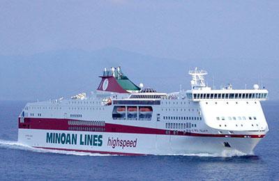 Minoan Lines Fret